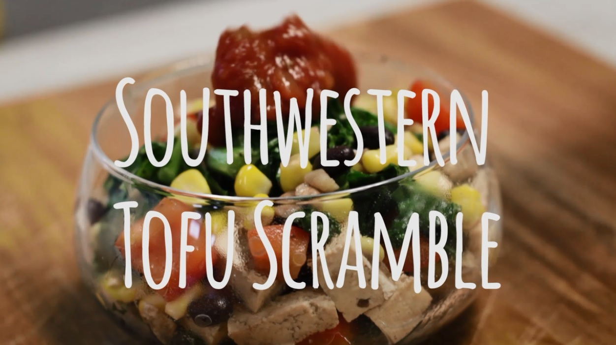 The Best Vegan Southwestern Tofu Scramble Recipe